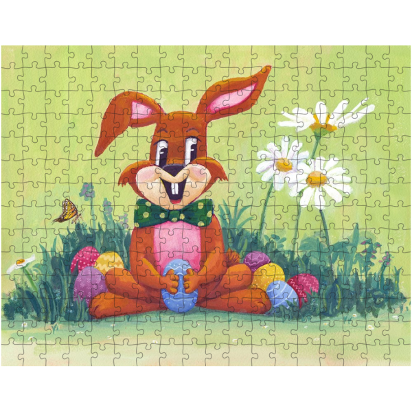 Easter Bunny 252 Piece Jigsaw Puzzle