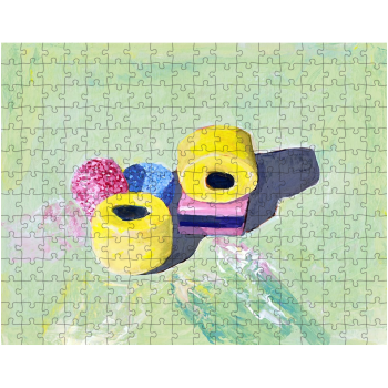 Liquorice Allsorts 252 Piece Jigsaw Puzzle