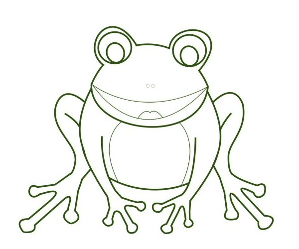 The frog is complete.