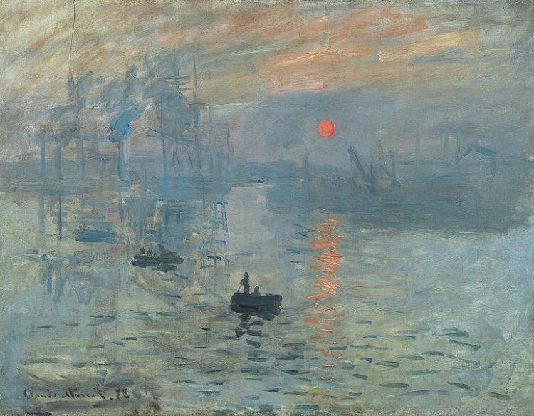 Impression Sunrise, Monet
