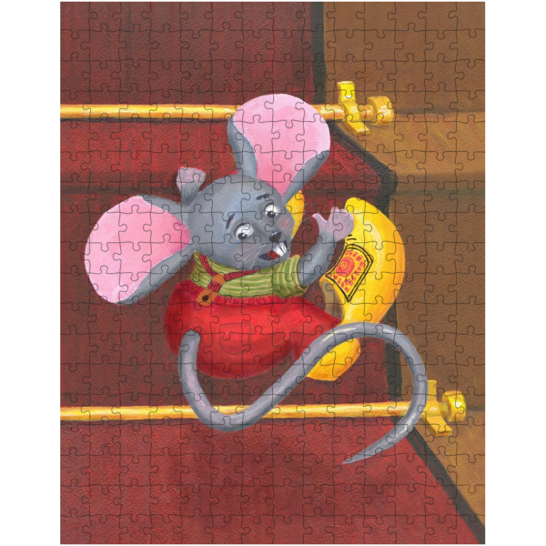 Little Mouse with Clogs On Jigsaw Puzzle