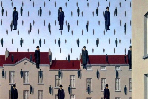 Goloconda, Magritte