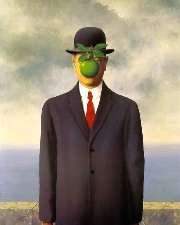 The Son of Man, Magritte