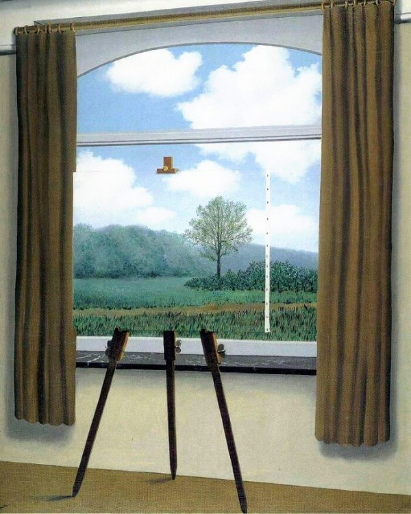 The Human Condition, Magritte