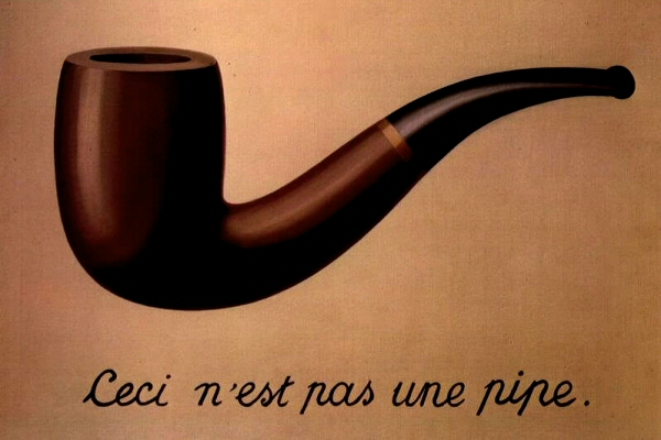 The Treachery of Images, Magritte