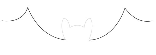 How to draw bat wings