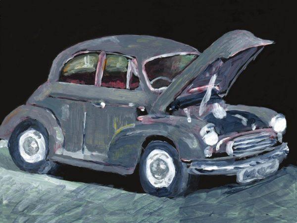 Jalopy - an old car