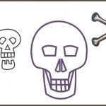How to draw a skull: header