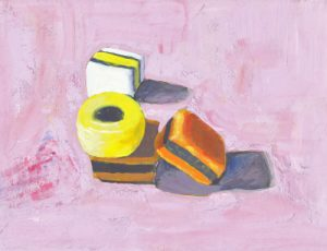 Allsorts on Pink