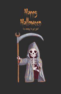 Dwarf Grim Reaper