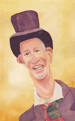 Victorian Man In Top Hat