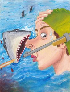 Whew Shark Shock